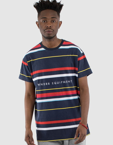 WNDRR West Stripe Tee