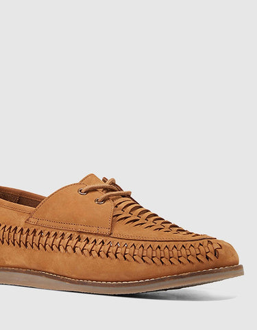 Hush Puppies Waldon Leather Shoe