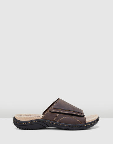HUSH PUPPIES Archie Leather Slide