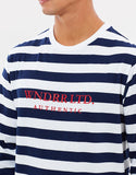 WNDRR Limited Stripe LS Tee