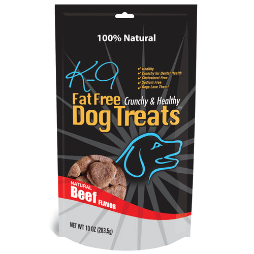 (b) K9 Fat Free Treats - 3 Amazingly Delicious and Healthy Varieties