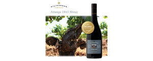GOLD for Attunga 1865 Shiraz - Decanter World Wine Awards
