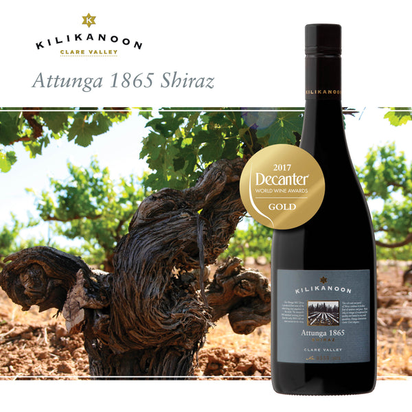 2013 Attunga 1865 GOLD - Decanter World Wine Awards
