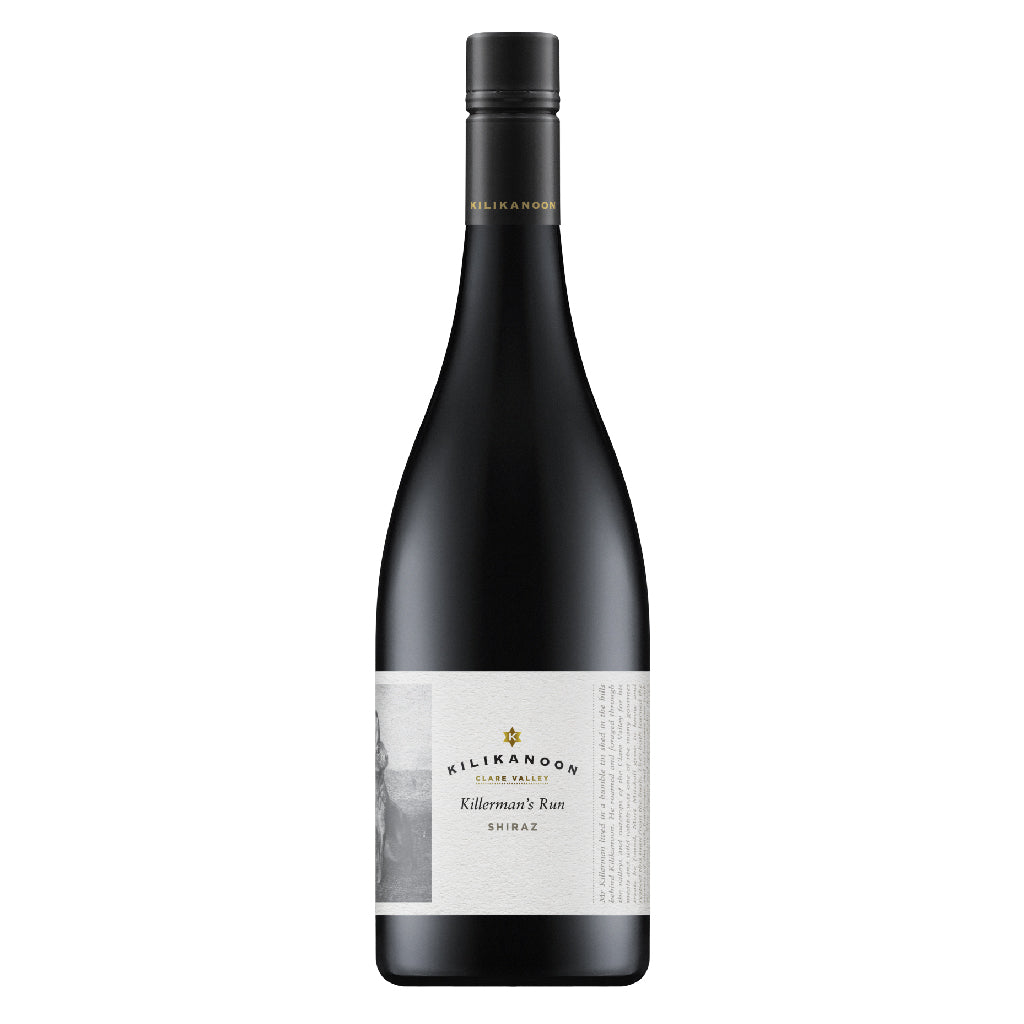 2016 Killerman's Run Shiraz - Back Vintage