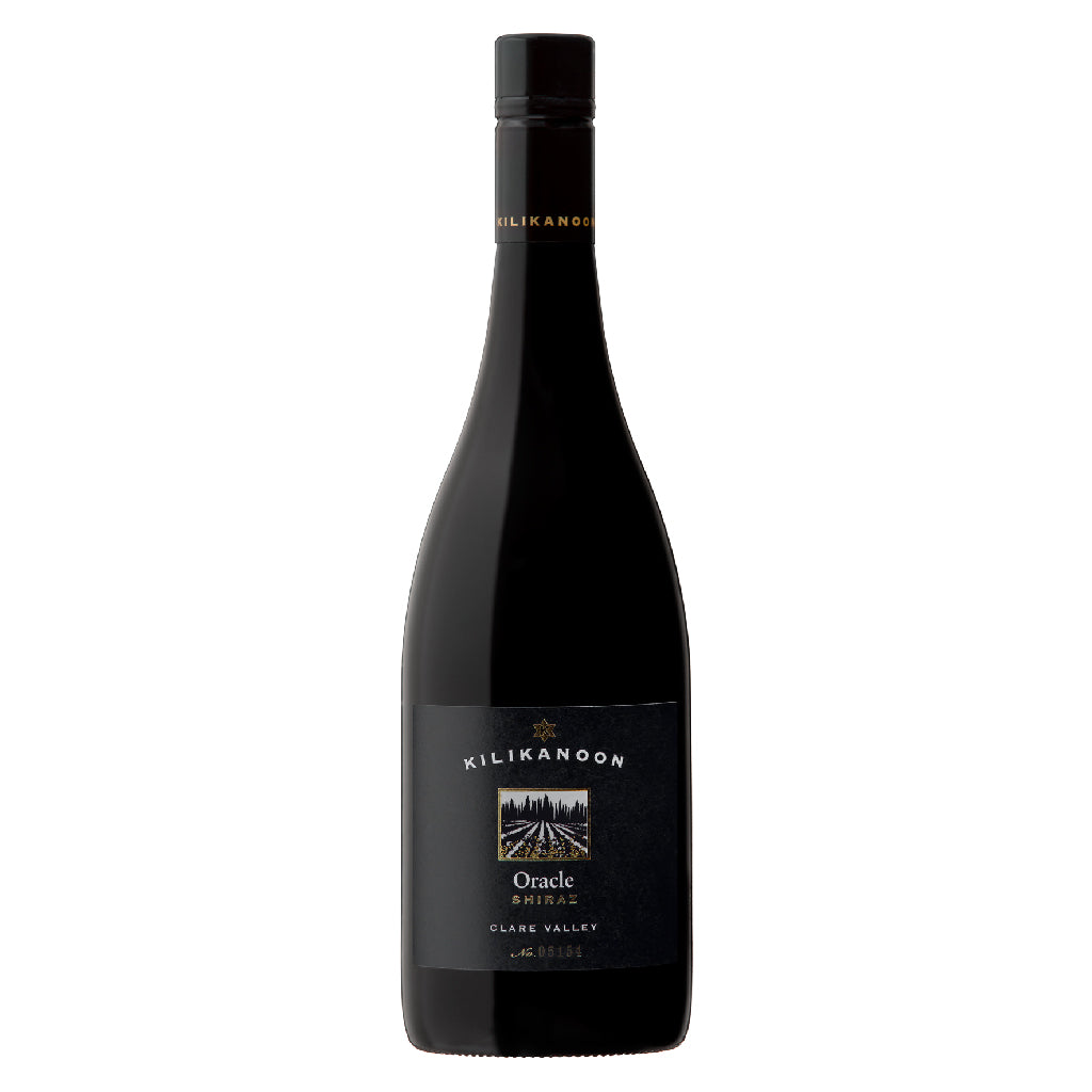 2012 Oracle Shiraz - Back Vintage