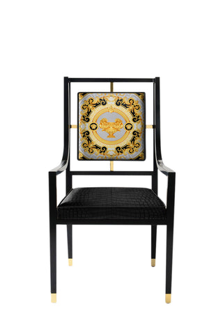 Oracle Armchair In Versace Home La Coupe De Dieux Velvet