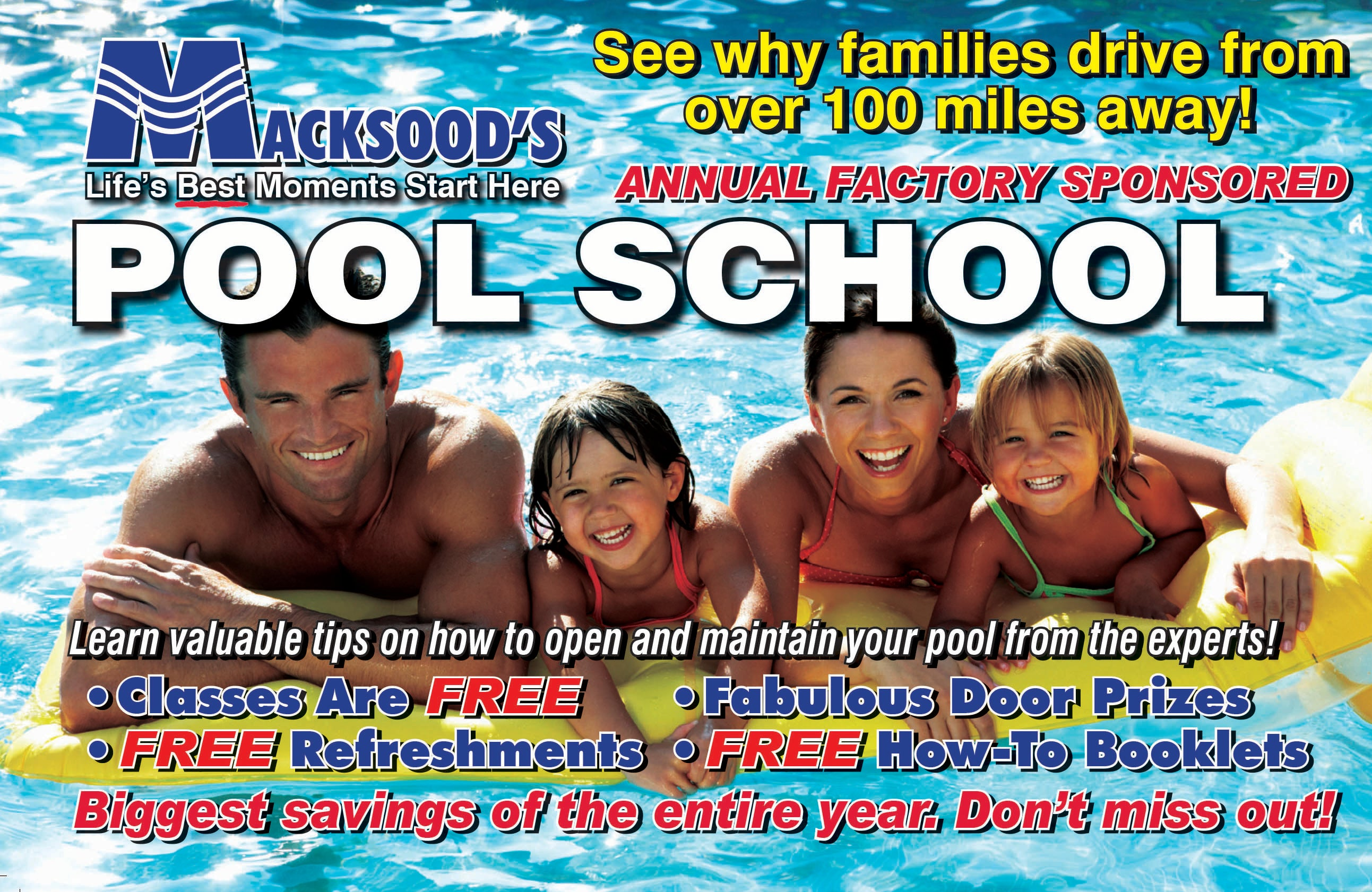 View the Pool School Flyer Here!