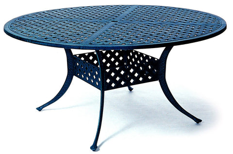 "Chateau Outdoor 54"" cast aluminum Dining Table"