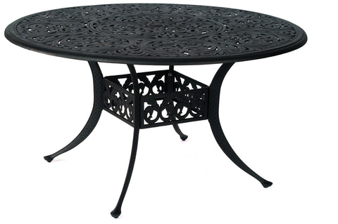 "Mayfair cast aluminum 48"" Dining Table"