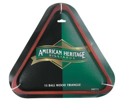 15 Ball Wood Triangle