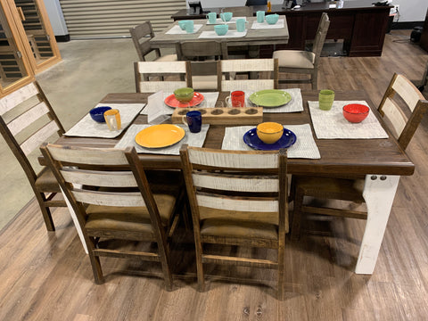 Antique White Dining - FLOOR MODEL CLEARANCE