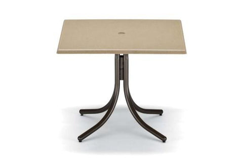 "Werzalit 36"" Outdoor Square Werzalit Table"