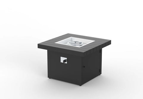 "34"" Square Fire Pit Table"