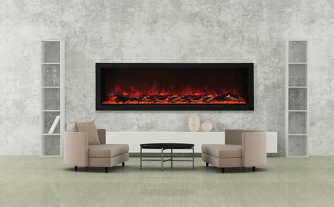 "Panorama Series 40"" Wall-Mount Fireplace"