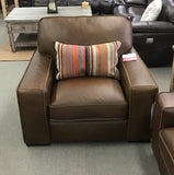Artesia Leather Chair - FLOOR MODEL CLEARANCE FLUSHING