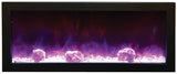 "Panorama Series 60"" Wall-Mount Fireplace"