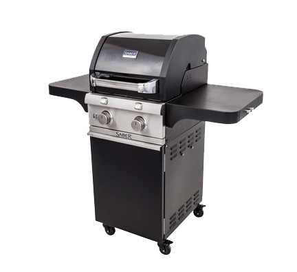 Cast Black 2-Burner Grill
