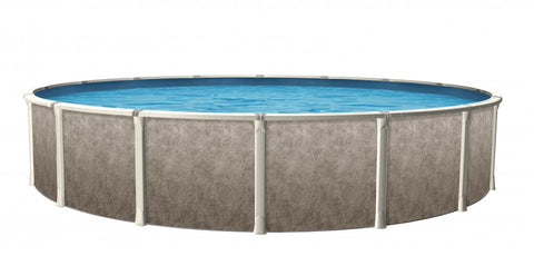 "Euro 27' x 52"" Round Swimming Pool"