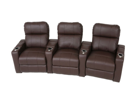 Genoa 3 Seat Home Theater Group