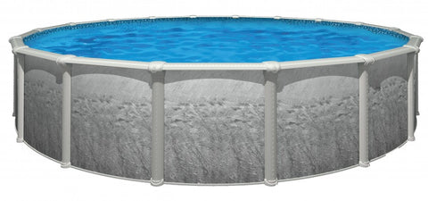 "Glen Cove 24' x 52"" Round Swimming Pool"