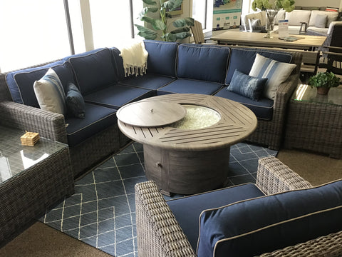 Monterey Wicker Sectional