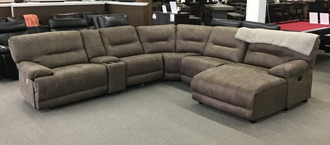 Infinity Jumbo Sectional With Chaise - FLOOR MODEL CLEARANCE FLUSHING