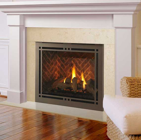 Meridian Platinum Direct Vent Fireplace