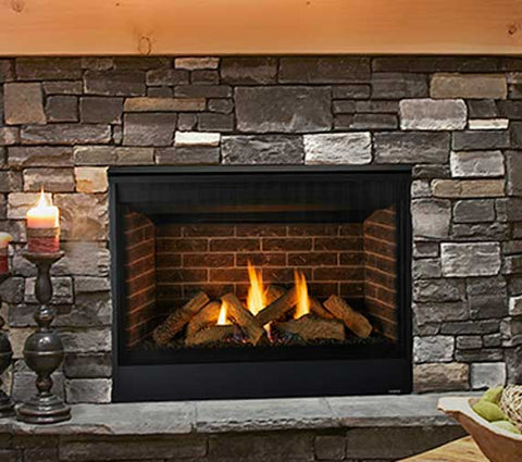 Quartz Direct Vent Fireplace