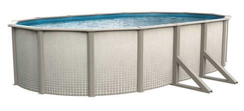 "Reprieve 12' x 24' x 52"" Oval Swimming Pool"