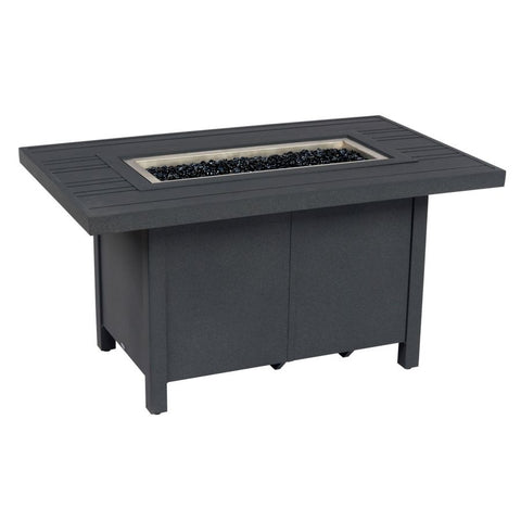 Tri-Slat Fire Table