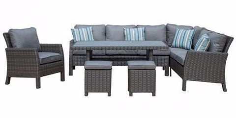 Arcadia Wicker Seating Group