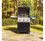Cast Black 3-Burner Grill