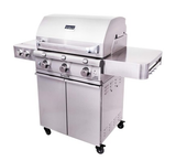 Stainless Steel 3-Burner Grill