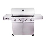 Stainless Steel 4-Burner Grill
