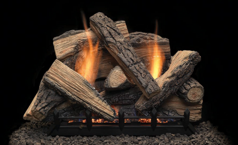 "Stony Creek VENT FREE 18"" gas LOG SET-Closeout Special"