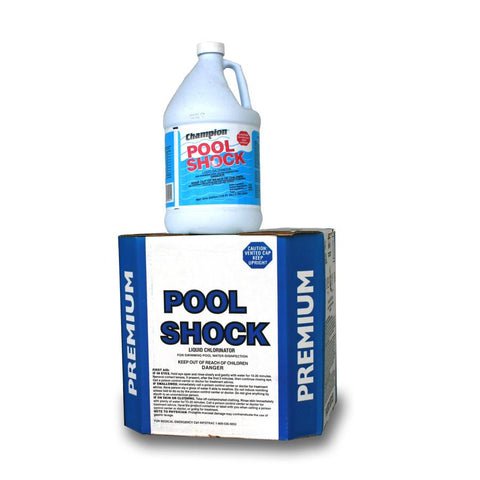 chlorine Liquid Pool Shock 1 gallon