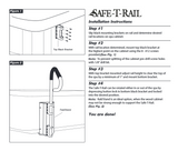 Spa Safety Rail - Black