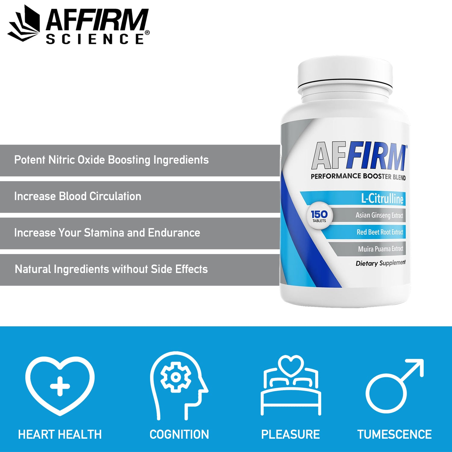 AFFIRM FOR PHYSICIANS I 150 Tablets I 12 Bottles I SHIPPING IN 10 DAYS