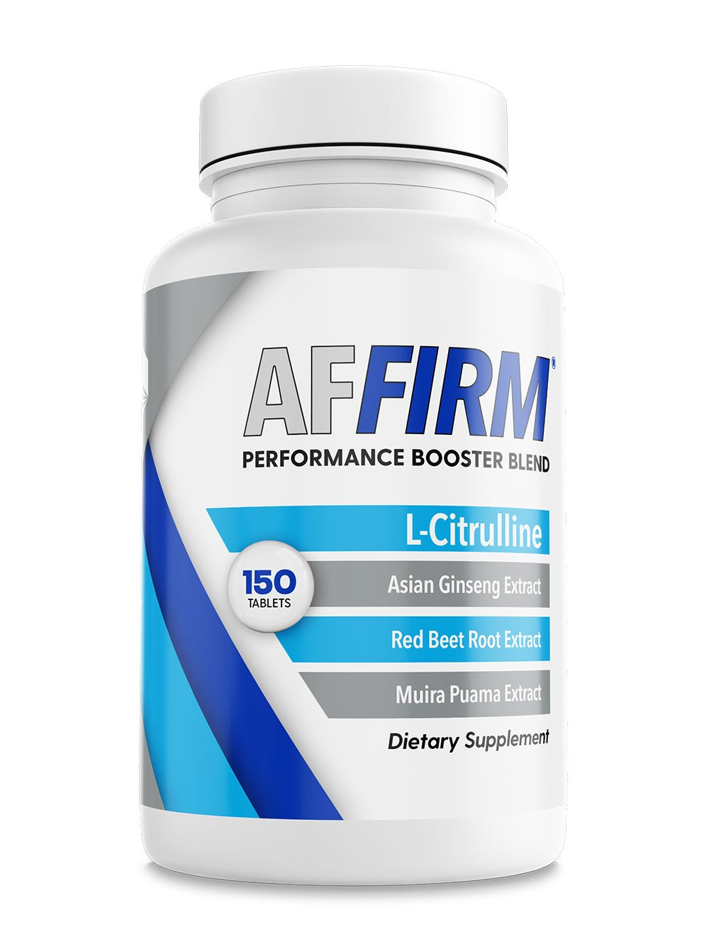 AFFIRM L-Citrulline Dietary Supplement 750mg I 150 Tablets I 1 bottle