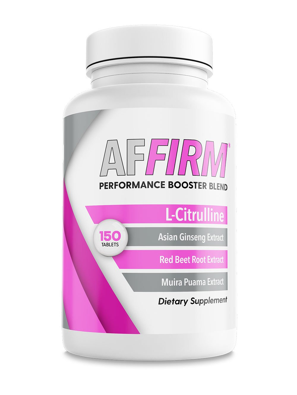 AFFIRM FOR WOMEN - L-Citrulline Dietary Supplement 750mg I 150 Tablets I 1 Bottle