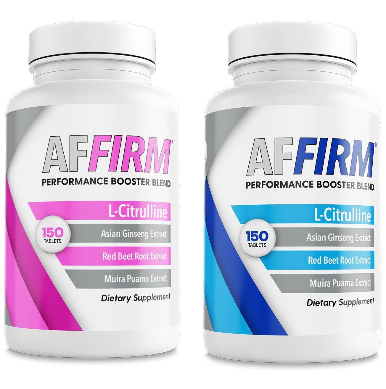 AFFIRM FOR HIM AND HER I 2 BOTTLES I  L-Citrulline Dietary Supplement 750mg