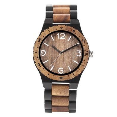 Marble Wood Wristwatch