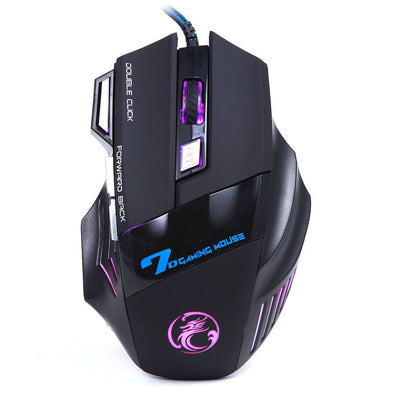 7D USB Wired Gaming Game Mouse