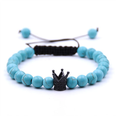 Adjustable Crown bracelet