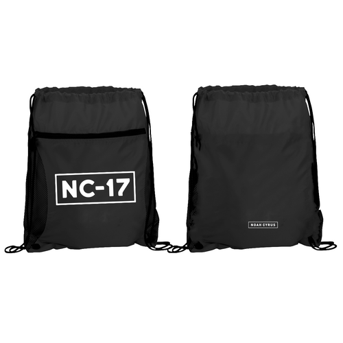 NC-17 Cinch Backpack - Noah Cyrus