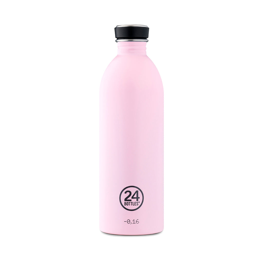 Wasserflasche Urban Bottle, 1 Liter, Candy Pink von 24 Bottles