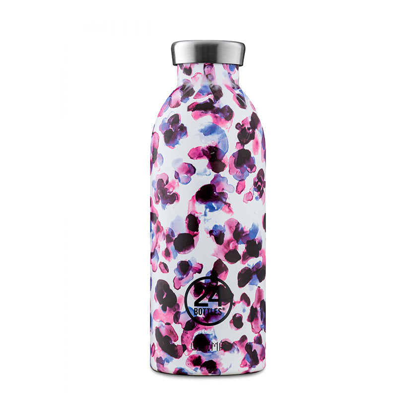 Thermosflasche Clima Bottle 0.5 Liter von 24 Bottles in Cheetah