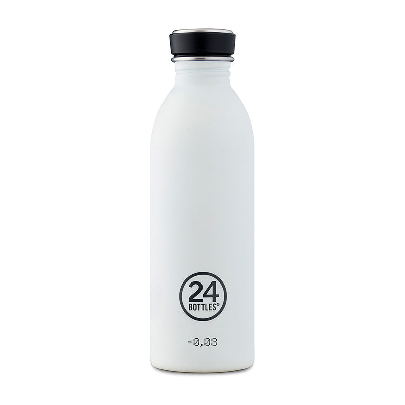 Wasserflasche Urban Bottle 0.5 Liter von 24 Bottles in Ice White