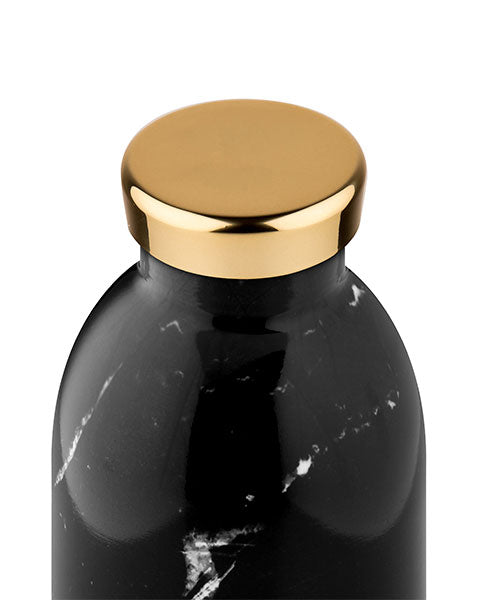 Thermosflasche Clima Bottle 0.33 Liter von 24 Bottles in Black Marble