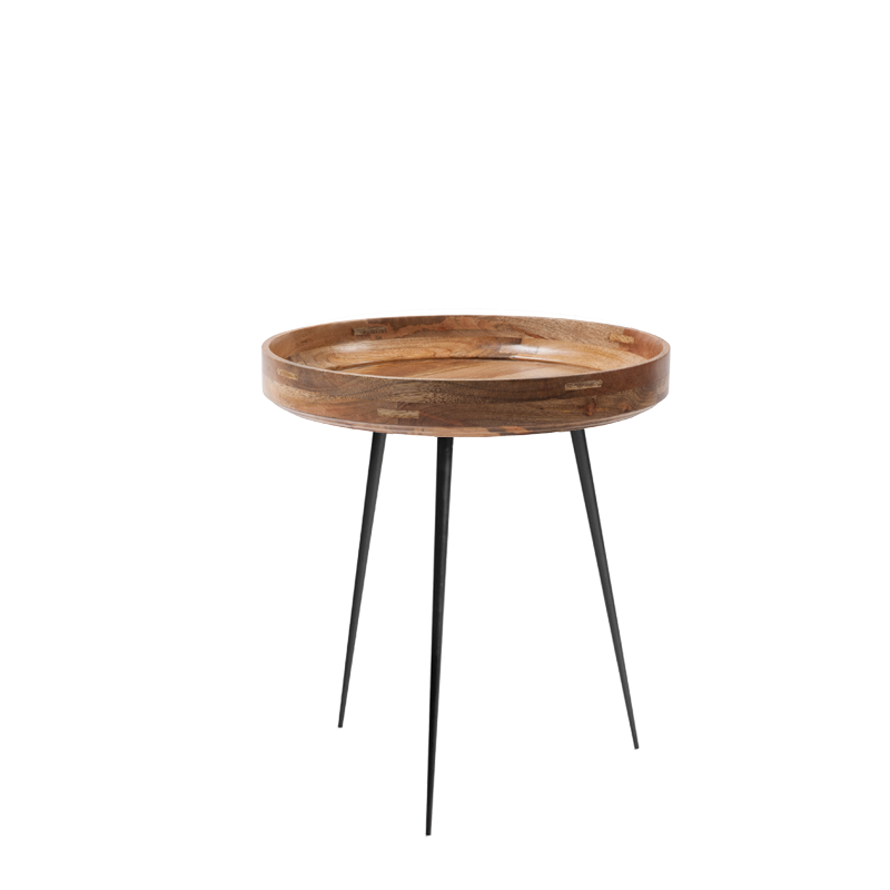 Mater Bowl Table Natural aus Mango M